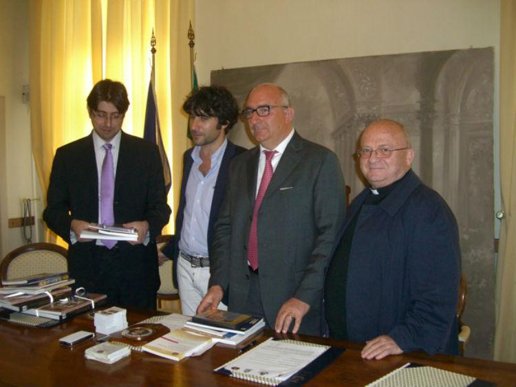 Giuseppe Bartera, ultimo da sinistra