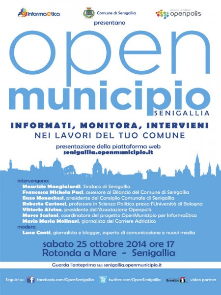 Open Municipio, manifesto