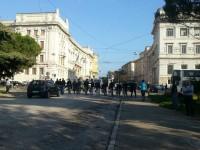 Corteo ad Ancona, 18 ottobre