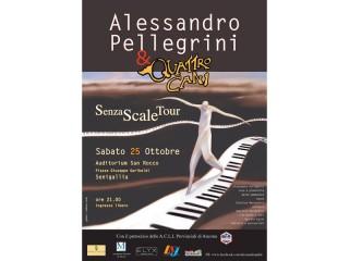 Alessandro Pellegini e Quattro Cani in concerto a Senigallia