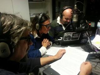Barucca, Riginelli, Tranquilli, tre voci di Radio Monk