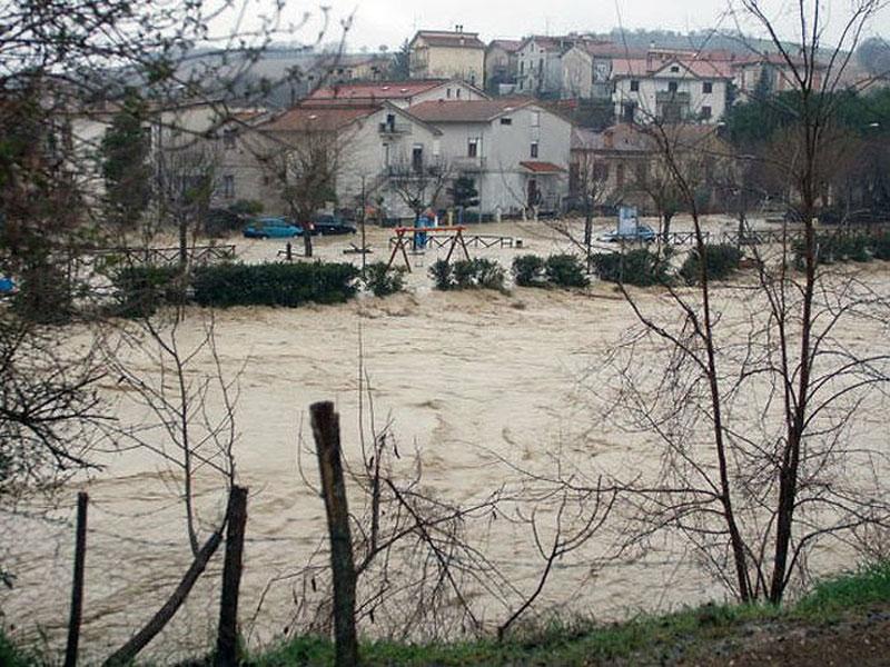 Alluvione 2011 a Casette d'Ete