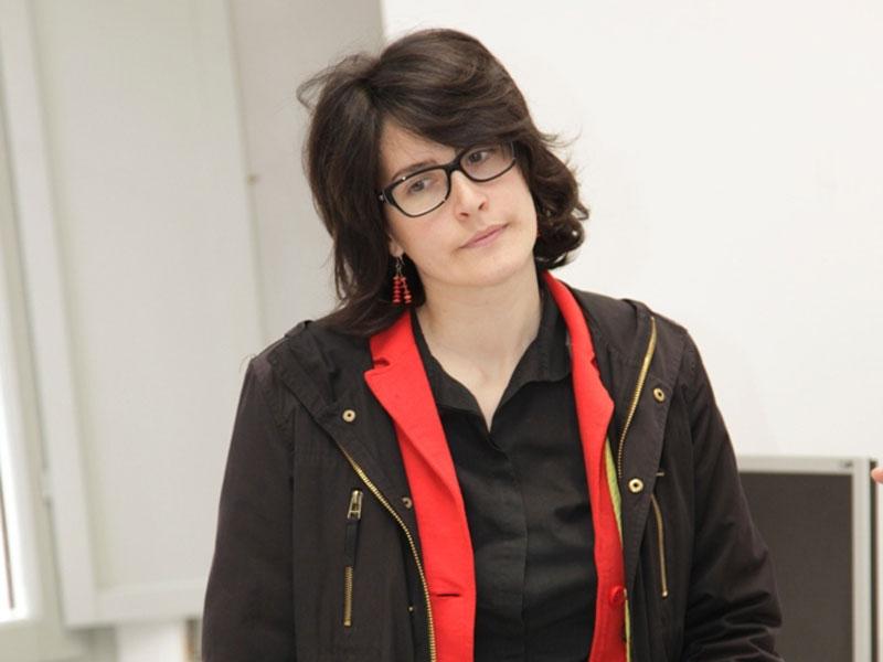 Giulia Casagrande agli incontri del Musinf
