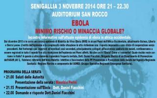 Ebola: convegno