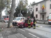 Incidente stradale a Falconara