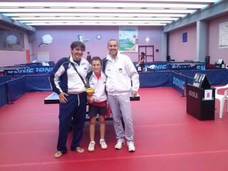 I premiati al torneo di Senigallia: terzo posto del dodicenne Tommaso Paucchi