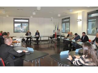 prima seduta del consiglio provinciale di Ancona