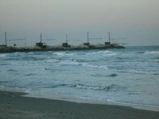 mare e porto di Senigallia