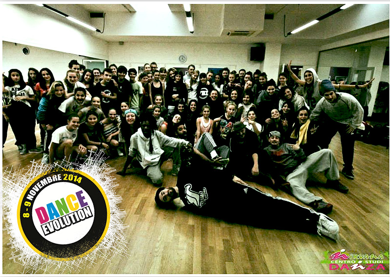 Stage internazionale Dance Evolution al Nirvana di Senigallia