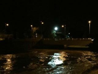 Ondata di piena del fiume Misa a Senigallia - 18 novembre 2014