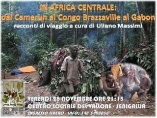 """""""In Africa centrale"""", manifesto della proiezione video"""