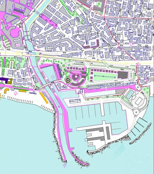 Proposta di riqualificazione del tratto urbano del Misa tra Foro e foce