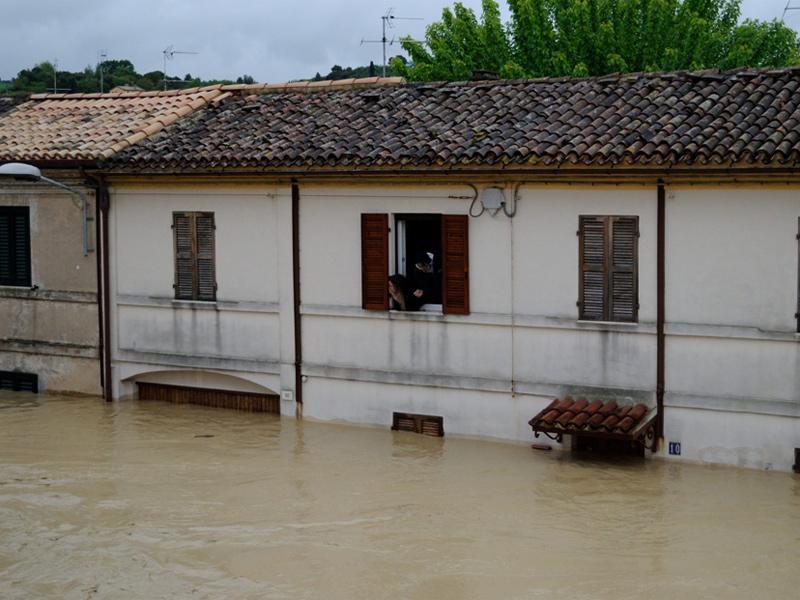 L'alluvione del 3 maggio 2014 a Senigallia