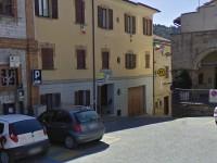 La caserma dei Carabinieri di Arcevia in via Brunamonti
