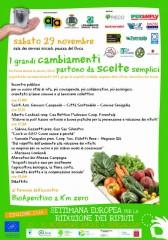 locandina del convegno promosso per la settimana europea per la riduzione dei rifiuti