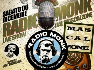 Cena e Radio Monk Live Show al Mascalzone di Senigallia