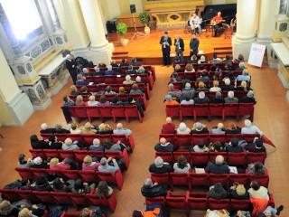 Auditorium San Rocco gremito per il ventennale dell'AOS
