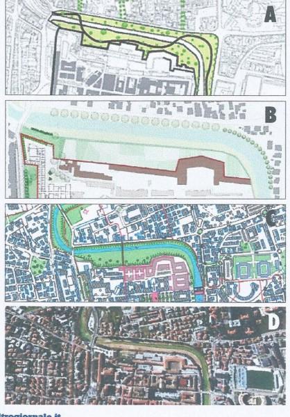 Proposta riqualificazione fiume Misa: tratto dello Stradone