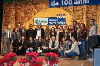 Consegna borse di studio Bcc Ostra e Morro d'Alba