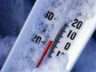 Buran: freddo, temperatura