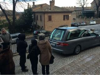 Funerali di Mario Frati