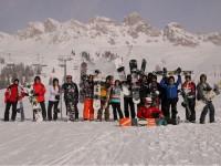 Settimana bianca IIS Padovano: gli snowboarders