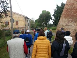 passeggiata Nordic Walking ANWI di Senigallia