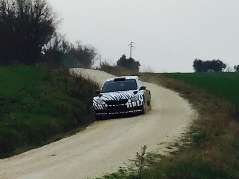 test rally a Corinaldo