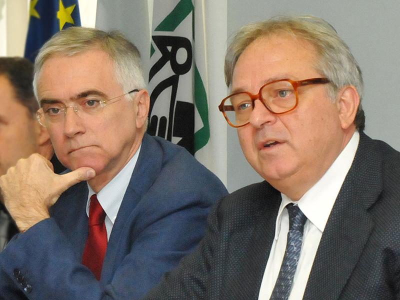 Antonio Canzian e Gian Mario Spacca