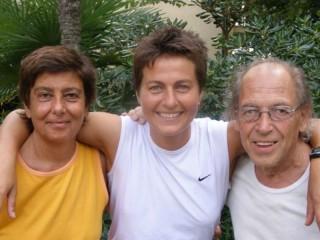 Emanuela Audisio, a sinistra di Sabrina Moretti ed Enzo Pettinelli