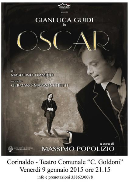 Locandina dello spettacolo Oscar al Goldoni di Corinaldo