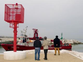 Il nautofono, la sirena al porto di Senigallia
