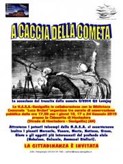 """""""A caccia della cometa"""", incontro a Montedoro"""