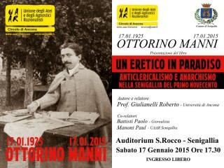 Ottorino Manni, presentazione volume