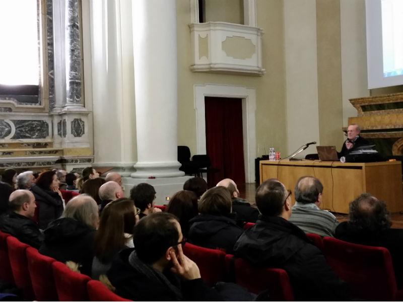 Roberto Mancini presenta la relazione sull'alluvione del 3 maggio 2014