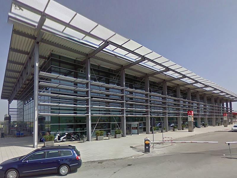 """L'aeroporto delle Marche a Falconara marittima """"R.Sanzio"""""""