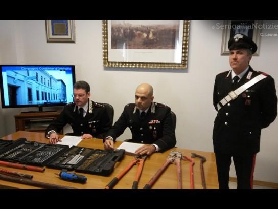 Carabinieri - furto di rame - foto 1
