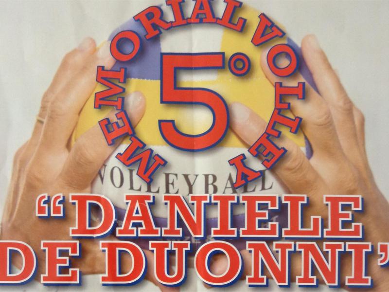 Locandina 5° Memorial Daniele De Duonni a Senigallia