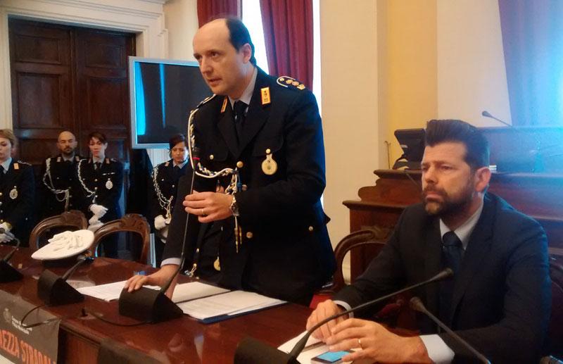 Polizia municipale di Senigallia in Comune