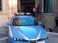 La polizia del commissariato di Osimo