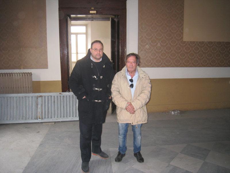 Roberto Paradisi e Giulio Moraca