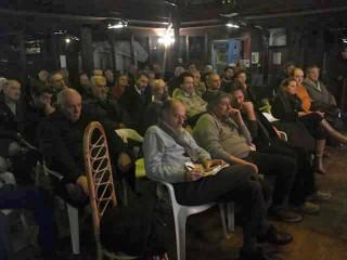 serata a Confluenze sul progetto di vasche di espansione sul fiume Misa, al Brugnetto di Senigallia