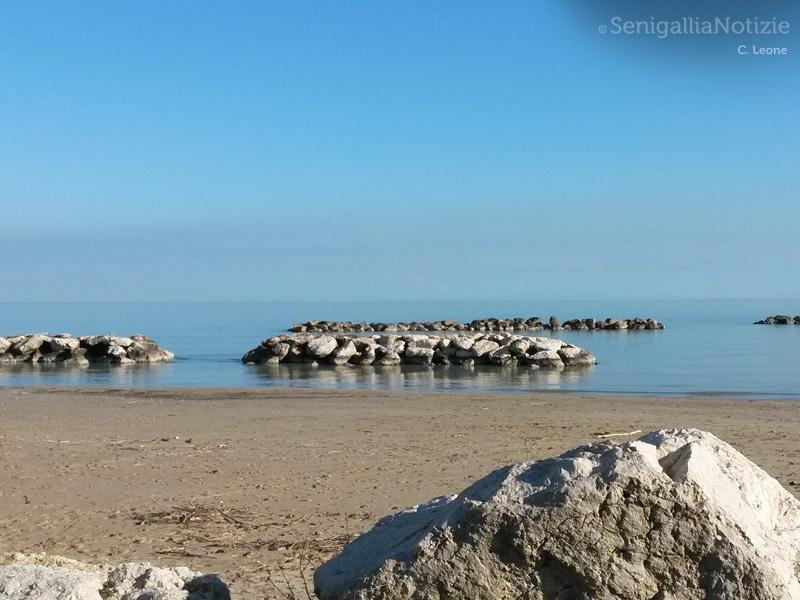 La spiaggia al Cesano di Senigallia