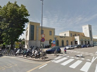 La stazione FS di Pesaro