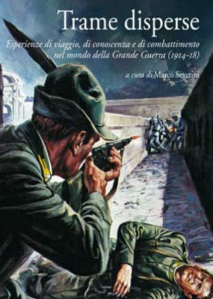 """Trame disperse"", copertina libro"