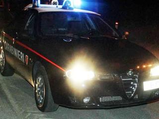 Carabinieri al lavoro nella notte, controlli notturni