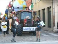 Carro di Roncitelli al Carnevale di Senigallia