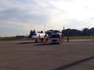 Rete ECMO per il trasporto di malati: il decollo da Fano