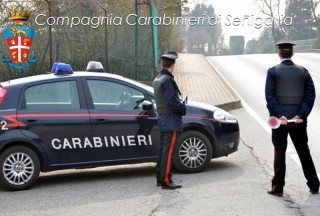 Pattuglia dei Carabinieri di Senigallia