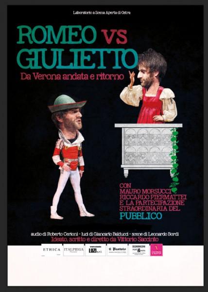"locandina ""Romeo vs Giulietto"""